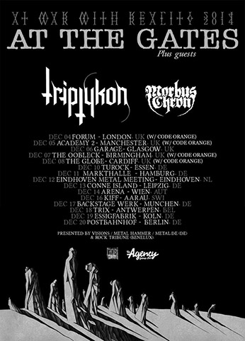 At the Gates + Triptykon + Morbus Chron