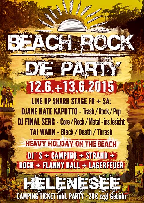 Beach Rock Party