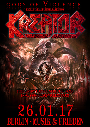 Kreator Record Release Show